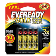 Energizer A92BP-4 Eveready Eveready Alkaline Aaa Battery 4 Pack