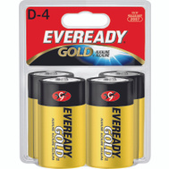 Energizer A95BP-4 Eveready Eveready Alkaline D Battery 4 Pack