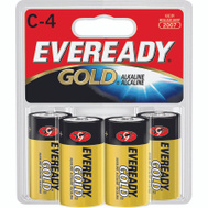 Energizer A93BP-4 Eveready Eveready Alkaline C Battery 4 Pack