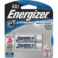 Energizer L91BP-2 Eveready 2 Pack Aa Lithium Battery