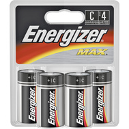 Energizer E93BP-4 4 Pack C Alkaline Battery