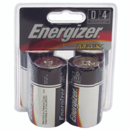 Energizer E95BP-4 4 Pack D Alkaline Battery
