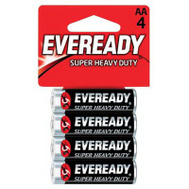 Energizer 1215BP-4 Eveready 4 Pack Super Heavy Duty Aa Battery