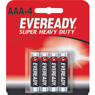 Energizer 1212BP-4 Eveready Aaa Super Heavy Duty Battery Pack Of 4