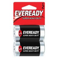 Energizer 1235BP-2 Eveready Super Heavy Duty C Battery Card Of 2