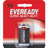 Energizer 1222BP Eveready Super Heavy Duty 9 Volt Battery