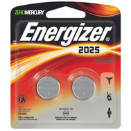 Energizer 2025BP-2 Battery Watch Li 3V 2025 Cd2 2 Pack