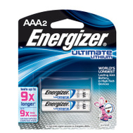 Energizer L92BP-2 Battery Aaa E2 Lithium 2Pk