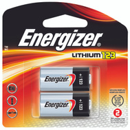 Energizer EL123APB2 Battery Lith Photo 3V 123 Cd2 2 Pack