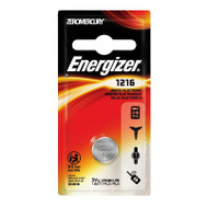 Energizer ECR1216BP 3 Volt Lithium Watch/Calculator Battery