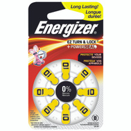 Energizer AZ10DP-8 Battery Hearing Aid No10 1.4V 8 Pack