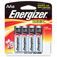 Energizer E91MP-8 Battery Alkaline Max 8 Pack/Aa 8 Pack