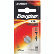 Energizer A76BPZ Battery Watch Mang Dioxide A76