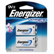 Energizer L522BP2 ENER2PK 9V Lith Battery
