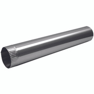 Lambro 228 Snap Lock Vent Pipes Aluminum 3 Inch By 24 Inch