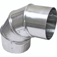 Lambro 2300 Aluminum Adjustable Vent Elbow 3 Inch
