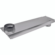 Lambro 3005 Tite Fit Rectangular Aluminum Dryer Vent 90 Degree 2 Inch By 6 Inch