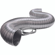 Lambro 3120UL 4 Inch By 8 Foot Ul Aluminum Flex Duct With Clamp