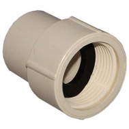 Nibco T00390D C Pvc 3/4 Inch Female Adapter