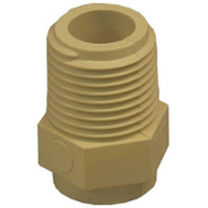 Nibco T00060D C Pvc 1/2 Inch Male Adapter