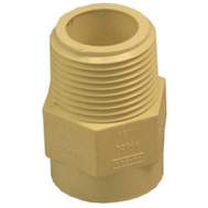 Nibco T00070D C Pvc 3/4 Inch Male Adapter