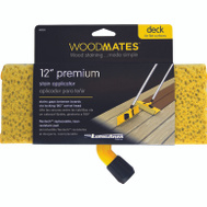 Mr Long Arm 0350 Woodmates 12 Inch Premium Stain Applicator With Flextech Pad