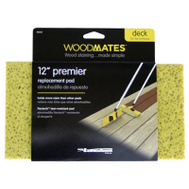 Mr Long Arm 0355 Woodmates 12 Inch Premium Stain Applicator Replacement Pad