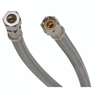 Fluidmaster B8F20 No Burst 20 In Faucet Connector 3/8Cp By 3 By 8Od