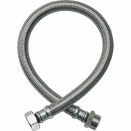 """Braided Stainless Steel 3//4/"""" Male Ir Fluidmaster B3H18 Water Heater Connector"""