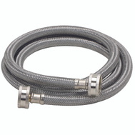 Fluidmaster 9WM60 No Burst 3/4 By 60 Inch Washing Machine Hose