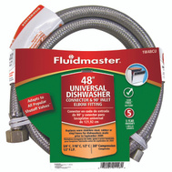 Fluidmaster 1W48CU No Burst 48 Inch Fitsall Dishwasher Connect