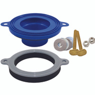 Fluidmaster 7530P8 Toilet Bowl Gasket Seal Wax-Free Better Than Wax