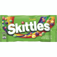 Continental Concession MMM01266 Skittles Sour Singles 1.8 Ounce