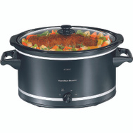Hamilton Beach 33182 8 Quart Slow Cooker Black And Silver