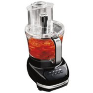 Hamilton Beach 70580 Big Mouth Food Processor With 12 Cup & 4 Cup Bowls