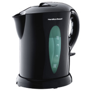 Hamilton Beach K6080 Large Electric Kettle Cordless Serving 1.8 Liter Black