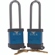 Orca ORCLBL Cooler Locks Blue Pack Of 2