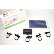 AEG International PS1001 Firefly Powerstart Complete Solar Lighting Kit
