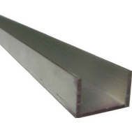 Steelworks Boltmaster 11381 1/2 Inch By 96 Inch Aluminum Trim Channel