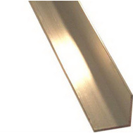 Steelworks Boltmaster 11436 Anodized Angle Aluminum 1/16 Inch By 3/4 Inch By 96 Inch