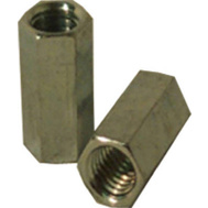 Steelworks Boltmaster 11843 1/4 20 Steel Coupling Nut