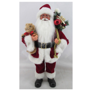 Christmas House 920077 Stand 3D Santa Figure