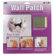 Deft PPG 5508 Wall Patch 8 Inch By 8 Inch Heavy Duty Self Adhesive Wall Repair Patch