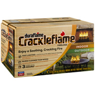 Duraflame 04537 Crackleflame Fire Log Ind/Otd 3Hr 4.5 Pound (Box Of 4)