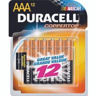 Duracell MN2400B12 Recloseable Aaa 12 Pack