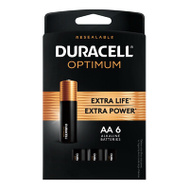 Duracell 032566 DURA OPT 6PK AA Battery