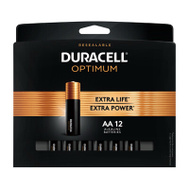 Duracell 032580 DURA OPT12PK AA Battery