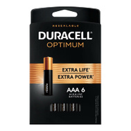 Duracell 032641 DURA OPT6PK AAA Battery