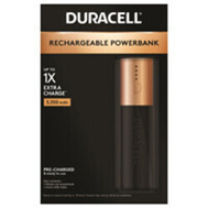 Duracell 032914 Powerbank/Charger Portble 1Day