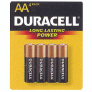 Duracell MN1500B4Z Aa Alkaline Battery Pack Of 4